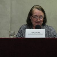 Professora Maria Clara Bingemer