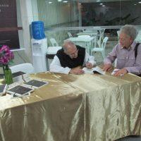 Merton 100 anos - Coquetel