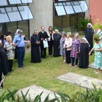 Missa em ação de graças e exposição - Petrópolis - RJ, 10 de dezembro de 2015