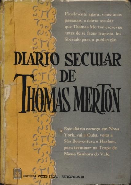 Diário secular de Thomas Merton